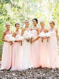 Elegant  Sheath/Column Sweetheart Empire Waist Ruched Floor-length Chiffon Bridesmaid dress WPBD-9737