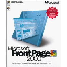 Microsoft FrontPage 2000 [OLD VERSION], (frontpage, computer, pc software)
