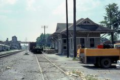 CHATSWORTH GA - 1980 Depot (Our little depot in OS. A library and historical society)