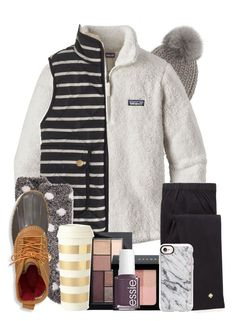 """""""January contest! ❄️❄️"""" by lbkatie17 on Polyvore featuring Eugenia Kim, Patagonia, J.Crew, Charter Club, L.L.Bean, Kate Spade, Maybelline, Bobbi Brown Cosmetics, Essie and Casetify"""