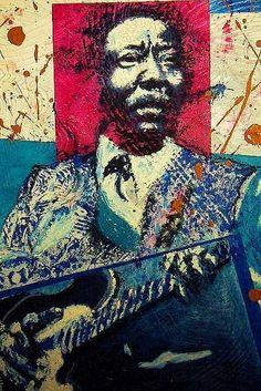 | Muddy Waters Mixed Media by Logan Kearse - Muddy Waters Fine Art ...