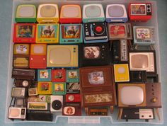 Miniature Tvs and radios Collection | Flickr - Photo Sharing!