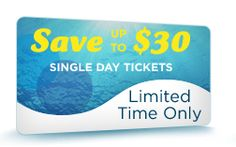 Save $30 on a Single Day Ticket