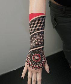 """Résultat de recherche d'images pour """"geometric tattoo sleeves"""""""