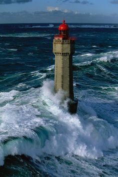 lighthouses are amazing.  Built to stand against water pressure and high winds and still able to keep watch.  There's a spiritual lesson there.