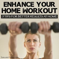 Make the most of your at home workouts with Tone and Tighten!