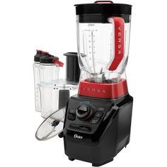 Oster Versa Performance Blender with Food Processor and Blend N' Go Accessories, BLSTVB-103-000 for Sale
