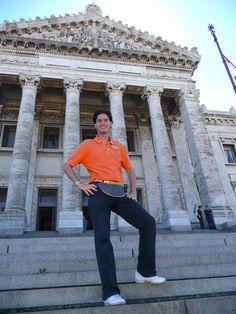 Frédéric Mathieu al Parlamento de Montevideo, Uruguay (08/03/2008)
