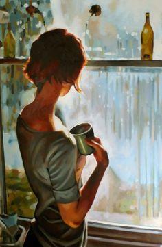 Hoje eu preciso tomar um café, ouvindo você suspirar Me dizendo que eu sou o causador da tua insônia Que eu faço tudo errado sempre, sempre...