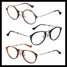 98a4fa2f992 Two new models SunGlasses Persol Round eyes