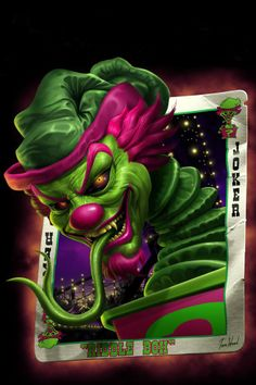 """Art Gallery and Online Store for Tom Wood""""s fantasy artworks, including his famous Dragons and depictions of the Insane Clown Posse - ICP. Clown Horror, Creepy Clown, Horror Art, Creepy Horror, Jester Tattoo, Clown Tattoo, Dark Artwork, Fantasy Artwork, Icp Joker Cards"""