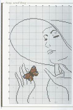 Gallery.ru / Фото #1 - 102 - monfran -- WOMAN & BUTTERFLY -- PAGE 1 OF 3