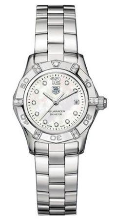 c1cf73026f927 TAG Heuer Women s Aquaracer Diamond Accented Watch
