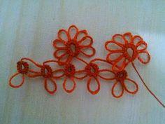 DOLGULU MEKİK OYASI DERS 1 - YouTube Needle Tatting, Tatting Lace, Needle Lace, Crochet Bedspread, Tatting Patterns, Make Your Mark, Needlework, Crochet Necklace, Projects To Try