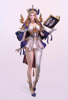 18 Best Ideas For Digital Art Fantasy Woman Anime Digital Art Fantasy, Fantasy Art Women, Beautiful Fantasy Art, Fantasy Girl, Female Character Design, Character Design References, Character Design Inspiration, Character Art, Fantasy Female Warrior