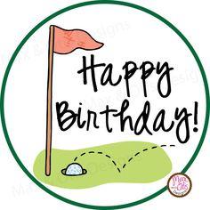 Golf Rules Happy Birthday - Golf - o. for man - Custom edit by lechezz Happy Birthday Golf, Happy Birthday Messages, Happy Birthday Greetings, Sister Birthday, Birthday Quotes, Birthday Cards, Men Birthday, Birthday Images For Men, Golf Cards