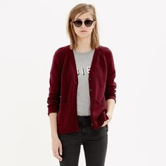 NWT MADEWELL Texturework Cardigan XS NWT. MADEWELL cardigan sold out. Size XS. Lean, easy fit, cool shirttail hem, and playful sides. Color is black and white. Madewell Sweaters Cardigans