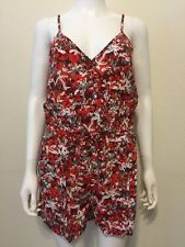 NWT New Banana Republic Wrap Patterned Strappy Romper Size S - wTo