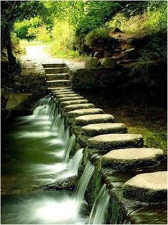 granted you need the waterway before you can make the path, but a beautiful idea