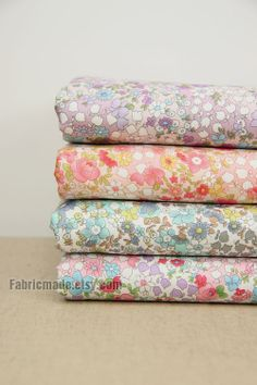 Fat Quarter Bundle Japanese Fabric Bundle Floral