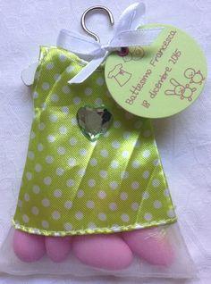 vestitini vestitino portaconfetti bomboniere battesimo nascita comunione