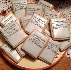 Graham cracker Bibles-how cool!