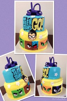 I hope Rickey wants to have a themed Teen Titans Go party this year. I would LOVVVVVE