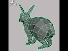 rabbit low poly - Buscar con Google