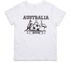 El Cheapo Australia 2014 (Black) Youth White T-Shirt