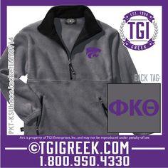 TGI Greek - Phi Kappa Theta - Homecoming Jacket - Kansas State Homecoming  #tgigreek #phikappatheta