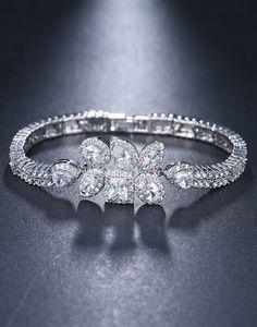 Bratara mireasa Fashion Leaf Swarovski, Wedding Rings, Engagement Rings, Jewelry, Fashion, Crystal, Diamond, Enagement Rings, Moda