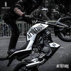 Guilty pleasure for every man! #Myattiitude #bikers #KTM #stunts