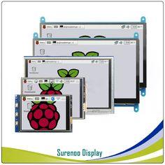 3.2, 3.5, 5.0, 7.0 pouce HDMI/GPIO TFT LCD Module D'affichage de L'écran du Moniteur avec Résistif/Capacitif Tactile Panneau pour Raspberry Pi Raspberry, Letters, Touch, Display, Lcd, Module, Billboard, Sign, Floor Space