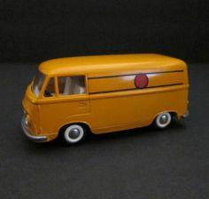 TEKNO Denmark FORD VAN Tanus Transit POSTAL MAIL Vintage Die-Cast TOY CAR