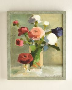 A Bouquet of Ranunculus Giclee at Neiman Marcus.