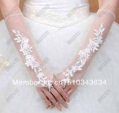 guanti da sposa guanti di pizzo di progettazione guanti estate garza guanti da sposa accessori da sposa