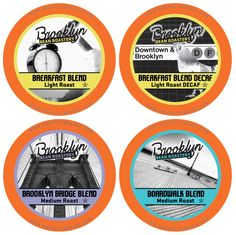 Brooklyn Beans Breakfast Variety Pack Single-Cup Coffee for Keurig K-Cup Brewers, 40 Count