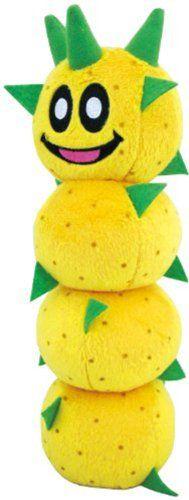 "Sanei Super Mario Plush Series Pokey Plush Doll, 9"" Sanei http://www.amazon.com/dp/B00G9Y269O/ref=cm_sw_r_pi_dp_KTV3tb173R509615"