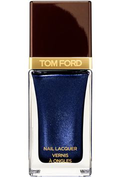 Love this from @tomford for spring. #NewNeutral Tom Ford Nail Lacquer in Indigo Night, $32, tomford.com.