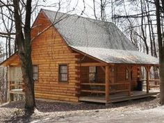 Small Log Cabin Homes Log Cabin Kits, small cabin design . Log Cabin Living, Log Cabin Kits, Log Cabin Homes, Small Log Cabin Plans, Tiny Cabins, Cabins And Cottages, Log Cabins, Log Home Designs, Cabin In The Woods
