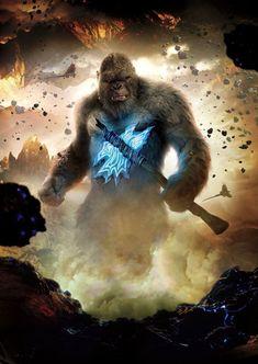 King Kong Skull Island, King Kong Vs Godzilla, Godzilla Wallpaper, Kong Movie, Legendary Pictures, Spiderman, Monster, Comic Art, Avengers