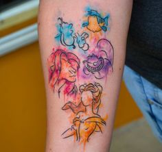 Beauty and the Beast Tattoos 40