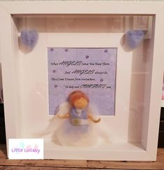 Items similar to Guardian Angel Box Frame on Etsy Box Frames, My Etsy Shop, Angel, Check, Angels