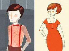 los angeles illustrator Nan Lawson -Frankie Magazin