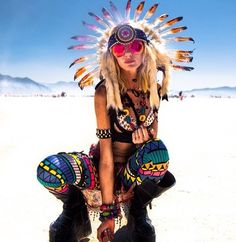 At Burning Man festival
