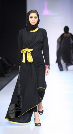2012 Abaya Fashion (Totally Grace Kelly!)