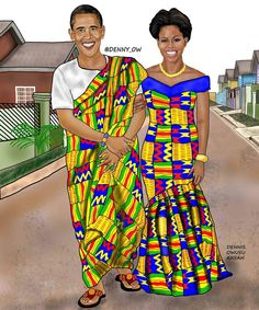 Image result for CNN Features Ghanaian Artist For Portraying Top Celebs In African Wear (PHOTOS)