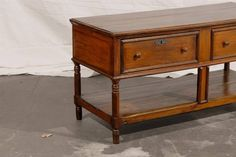 19th Century Continental Two-Tier Buffet   From a unique collection of antique and modern buffets at https://www.1stdibs.com/furniture/storage-case-pieces/buffets/