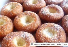 fill with apricot jam Slovak Recipes, Czech Recipes, Hungarian Recipes, Hungarian Food, Desert Recipes, Gourmet Recipes, Sweet Recipes, Cooking Recipes, Churros
