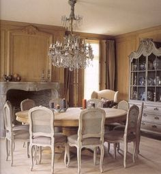 French Dining Chairs - Featured on Belgian Pearls Blog